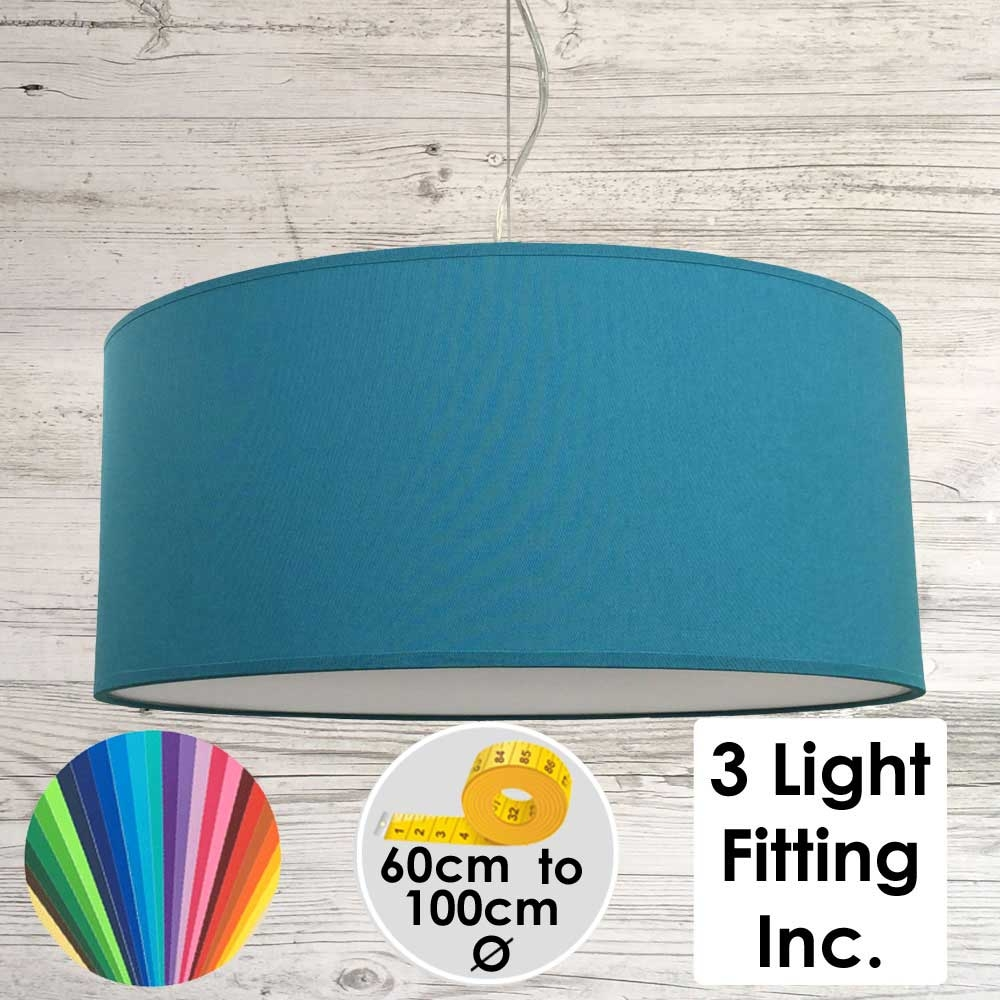 Peacock Drum Ceiling Light